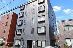 北海道札幌市白石区菊水三条1丁目の賃貸アパートの外観