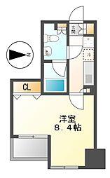 グラン・アベニュー栄[4階]の間取り