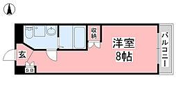 カローラ清水町[1003号室]の間取り