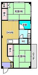 新松戸ビル[301号室]の間取り
