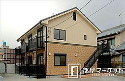 愛知県豊田市挙母町2丁目の賃貸アパートの外観
