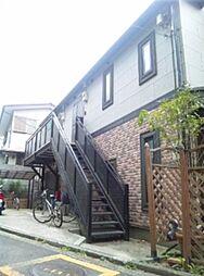 神奈川県横浜市港北区大倉山2の賃貸アパートの外観