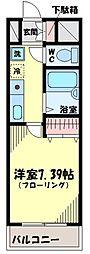 世田谷区瀬田3丁目[1階-2号室]の間取り