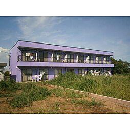茨城県土浦市永国の賃貸アパートの外観
