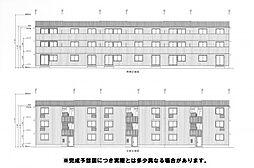 D-room横代北町II A棟[1階]の外観