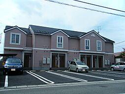 山形県東村山郡中山町大字長崎字町浦の賃貸アパートの外観