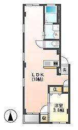 仮)グランレーヴ東別院WEST[2階]の間取り