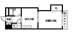 上新庄グランドハイツ[3階]の間取り