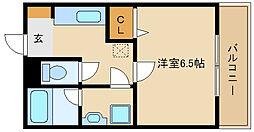 兵庫県尼崎市南塚口町2丁目の賃貸アパートの間取り