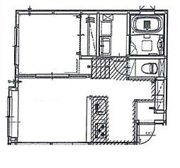 エスパニア札幌IV[1階]の間取り