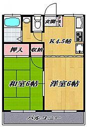 YSマンション[105号室号室]の間取り