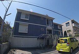 兵庫県西宮市上甲東園2丁目の賃貸マンションの外観