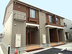 新潟県新発田市住吉町4丁目の賃貸アパートの外観