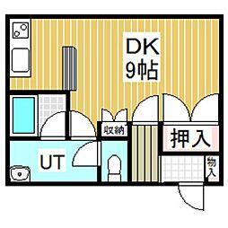 ポップハウス4[102号室]の間取り