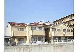 愛知県岡崎市洞町字五位原の賃貸アパートの外観