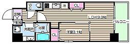 プリエ福島[6階]の間取り