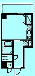 アイルイン武蔵新城[4階]の間取り