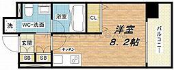 KDXレジデンス本町橋[9階]の間取り