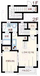 ヒルサイドコート[2階]の間取り