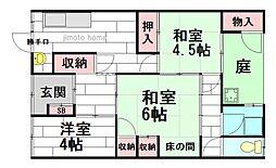 [一戸建] 大阪府茨木市春日1丁目 の賃貸【大阪府/茨木市】の間取り