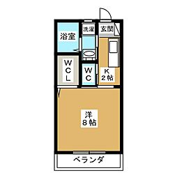 サン・香久山[2階]の間取り