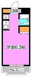 埼玉県新座市栗原4の賃貸マンションの間取り
