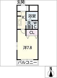 ルミナスハイムI[1階]の間取り