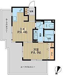 フォレシティ桜新町[0503号室]の間取り