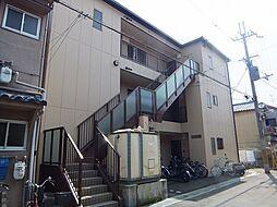 サンライズ柏原[2階]の外観