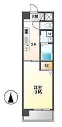 エクセルシオール栄[4階]の間取り