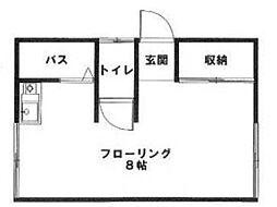 小川ビル[1階]の間取り