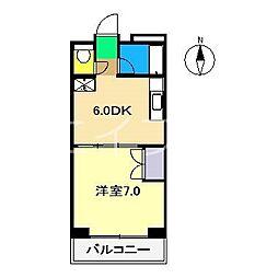 ST愛宕[4階]の間取り