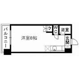 熊本県熊本市西区上熊本1丁目の賃貸マンションの間取り