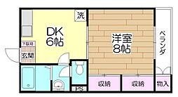 第二宇田川ビル[301号室]の間取り