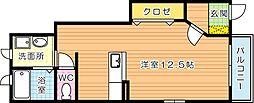 セイバリーライフ[1階]の間取り
