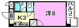 美沢寿ハイツ[408 号室号室]の間取り