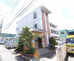 京都府宇治市五ヶ庄福角の賃貸アパートの外観