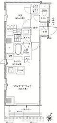 Residence KANDA[4階]の間取り