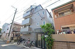 東京都大田区仲六郷4丁目の賃貸マンションの外観