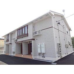 長野県東御市加沢の賃貸アパートの外観