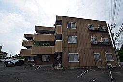 群馬県高崎市緑町3丁目の賃貸マンションの外観