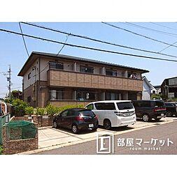 愛知県みよし市三好町上の賃貸アパートの外観