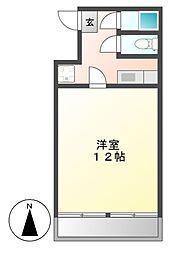 青池町マンション[3階]の間取り