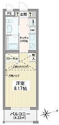 代々木八幡駅 12.4万円