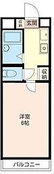 共立リライアンス豊田B[206号室]の間取り