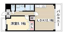 愛知県名古屋市守山区大字上志段味字上島の賃貸マンションの間取り