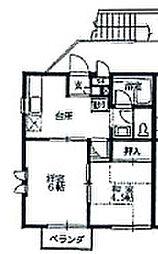 コーラルハイム東林間[0203号室]の間取り