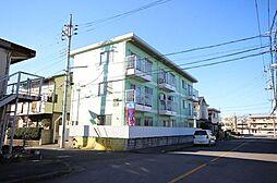 埼玉県春日部市千間1丁目の賃貸マンションの外観