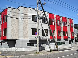 北海道札幌市東区北三十四条東14丁目の賃貸アパートの外観