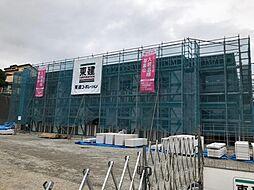 木更津市真舟5丁目新築アパート[102号室]の外観